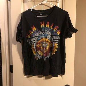 Van Halen black shirt